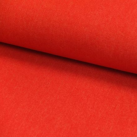 Tissu Denim Jeans Rouge x10cm