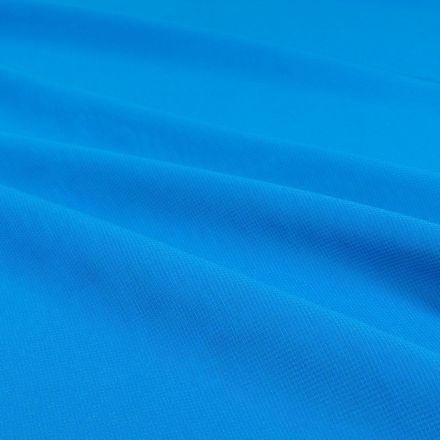 Tissu Mousseline uni Turquoise - Par 10 cm