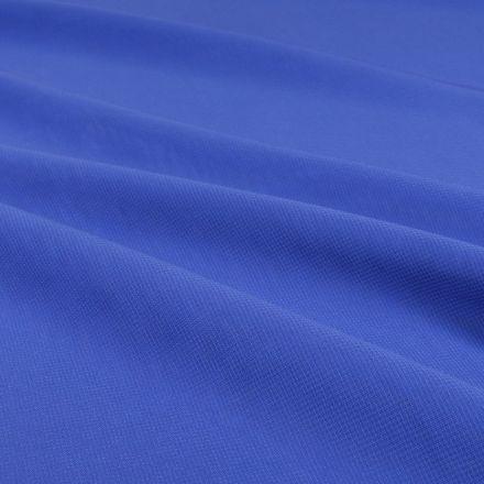 Tissu Mousseline uni Bleu roi - Par 10 cm