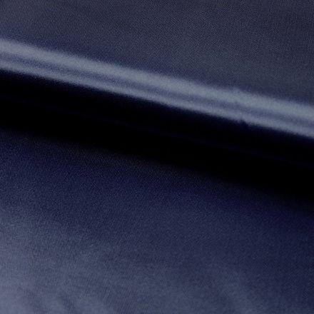 Tissu Satin uni Bleu marine x1m