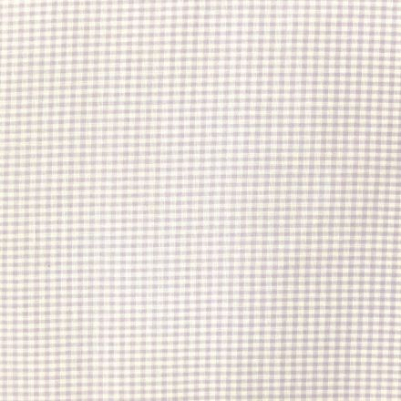 Tissu Vichy Mini carreaux 3 mm Lavande - Par 10 cm