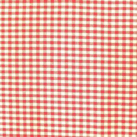 Tissu Vichy Petits carreaux 5 mm Fuchsia - Par 10 cm