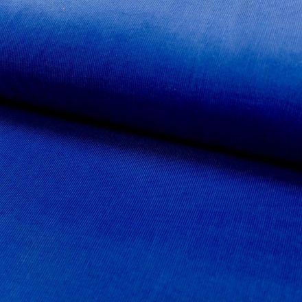 Tissu Velours milleraies Bleu roi - Par 10 cm