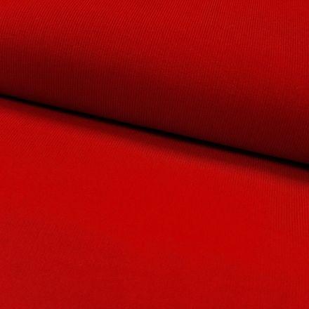 Tissu Velours milleraies Rouge - Par 10 cm