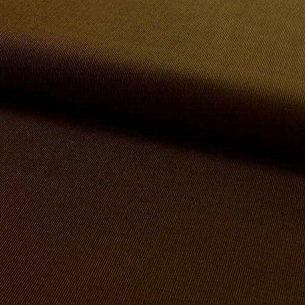 Tissu Velours milleraies Marron - Par 10 cm