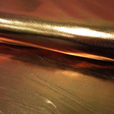 Tissu Lamé brillant Bronze - Par 10 cm