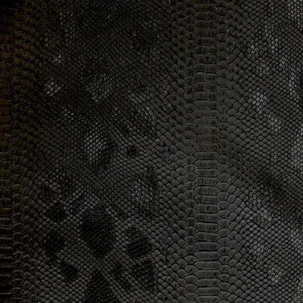 Simili cuir Comodo Noir - Par 50 cm