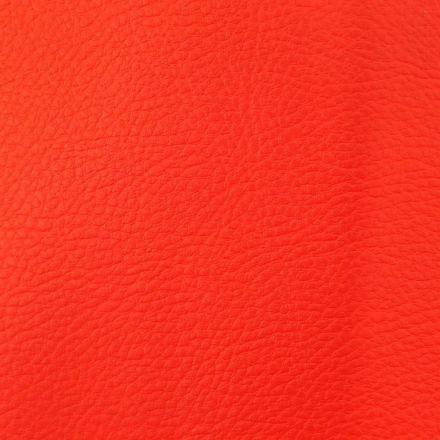 Simili cuir d'ameublement uni Rouge - Par 50 cm