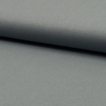 Tissu Coton uni Gris ardoise - Par 10 cm