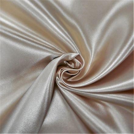 Tissu Doublure Satin Deluxe Naturel - Par 10 cm