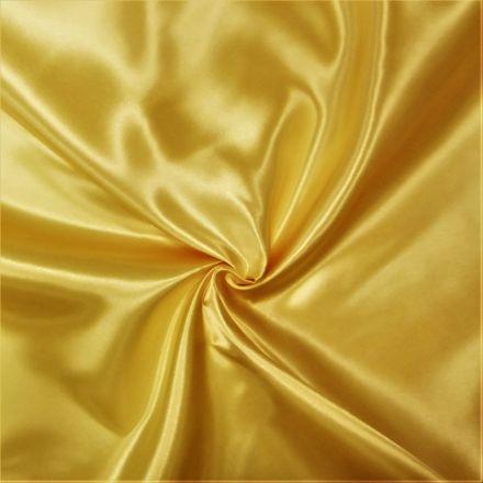 Tissu Doublure Satin Deluxe Canari - Par 10 cm