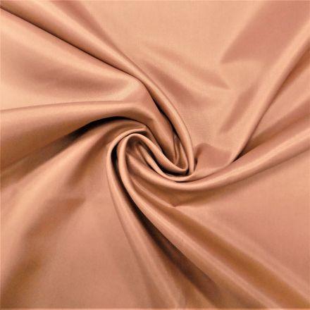 Tissu Doublure Pongé Beige foncé - Par 10 cm