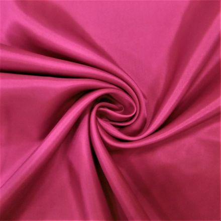 Tissu Doublure Pongé Fuschia - Par 10 cm