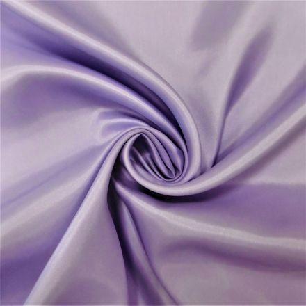 Tissu Doublure Pongé Parme - Par 10 cm
