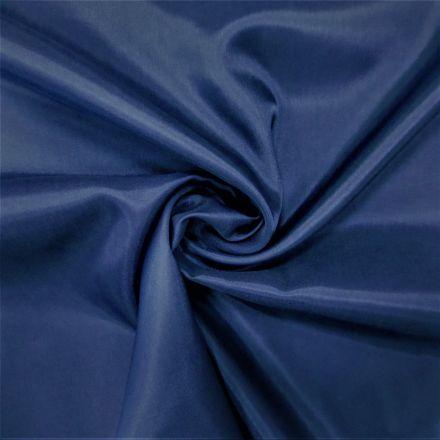 Tissu Doublure Pongé Bleu marine - Par 10 cm