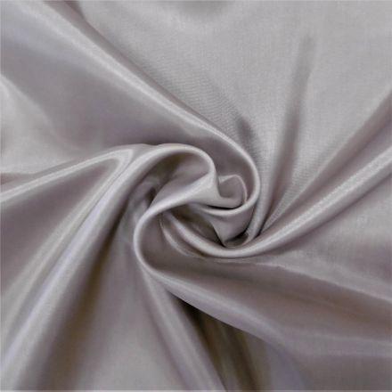 Tissu Doublure Pongé Gris clair - Par 10 cm