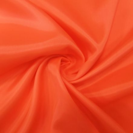 Tissu Doublure Pongé Pêche - Par 10 cm