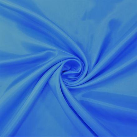Tissu Doublure Pongé Aigue marine - Par 10 cm