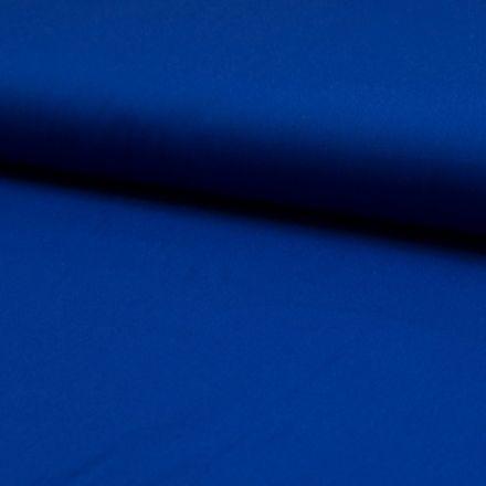 Tissu Popeline de coton unie Bleu roi - Par 10 cm