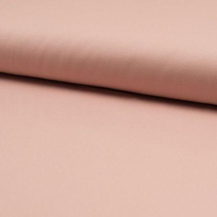 Tissu Popeline de coton unie Saumon - Par 10 cm