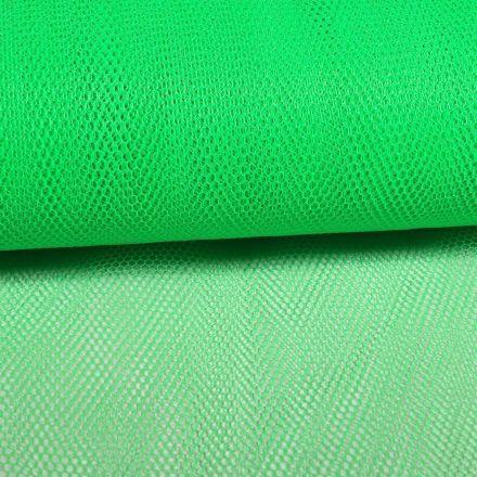 Tissu Tulle Rigide Vert - Au mètre