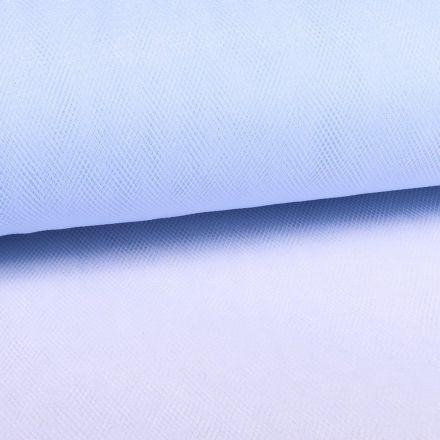 Tissu Tulle Souple Grande Largeur Bleu Dragée - Au mètre