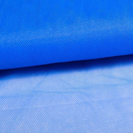 Tissu Tulle Souple Grande Largeur Bleu Electrique - Au mètre