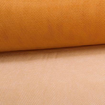 Tissu Tulle Souple Grande Largeur Camel - Au mètre