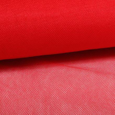 Tissu Tulle Souple Grande Largeur Rouge - Au mètre