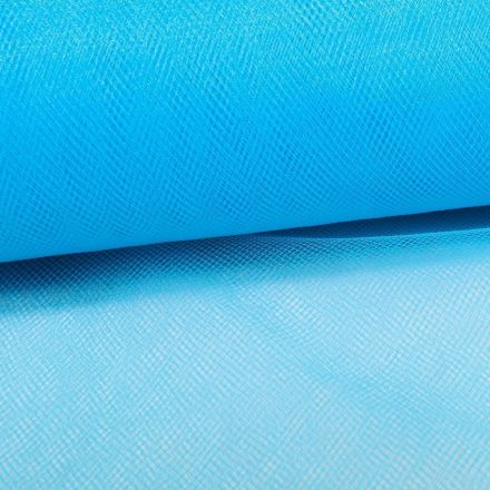 Tissu Tulle Souple Grande Largeur Turquoise - Au mètre