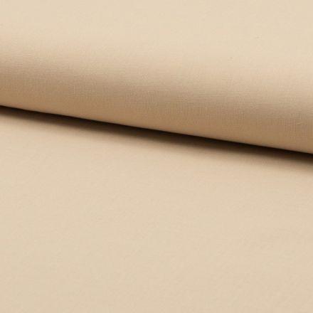 Tissu Voile de coton uni Chair - Par 10 cm
