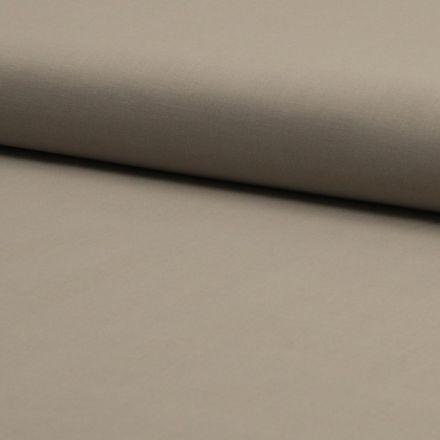 Tissu Voile de coton uni Beige sable - Par 10 cm