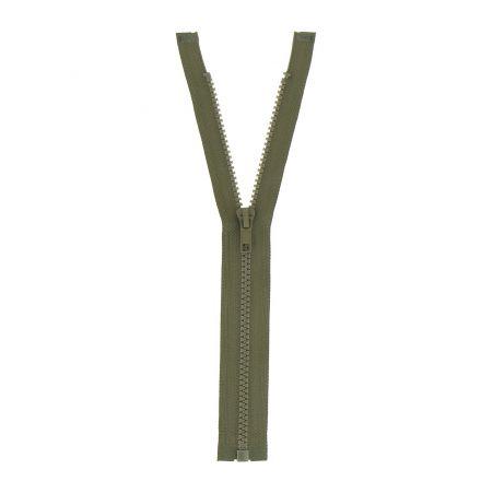 Fermeture injectée n°5 séparable Beige vert - 12 tailles