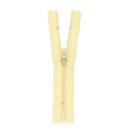 Fermeture nylon non séparable Beige sable - 12 tailles