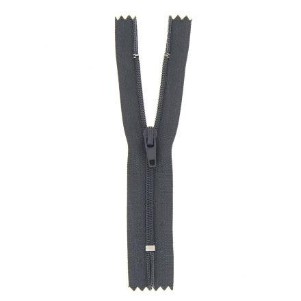 Fermeture nylon non séparable Gris anthracite - 12 tailles