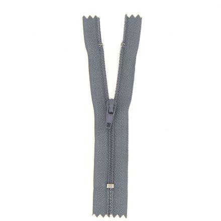 Fermeture nylon non séparable Gris souris - 12 tailles