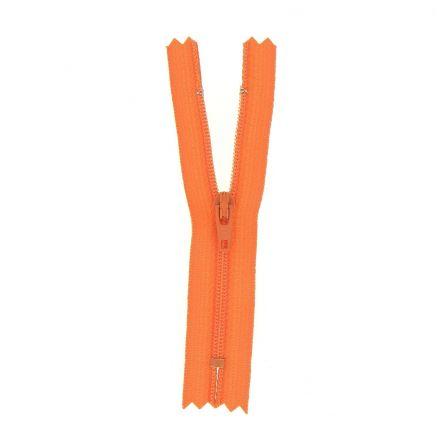 Fermeture nylon non séparable Orange - 12 tailles