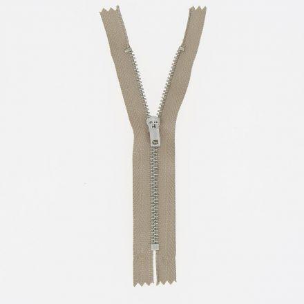 Fermeture spéciale pantalon non séparable Beige foncé - 4 tailles