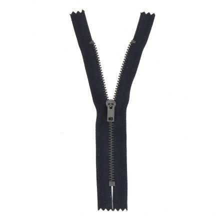 Fermeture spéciale pantalon non séparable Bleu marine - 6 tailles