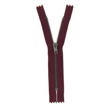 Fermeture spéciale pantalon non séparable Prune - 3 tailles