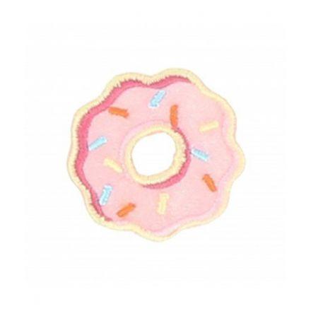 Ecusson Thermocollant Donut Rose