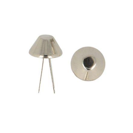 Patin de sac Argent 15 mm X4