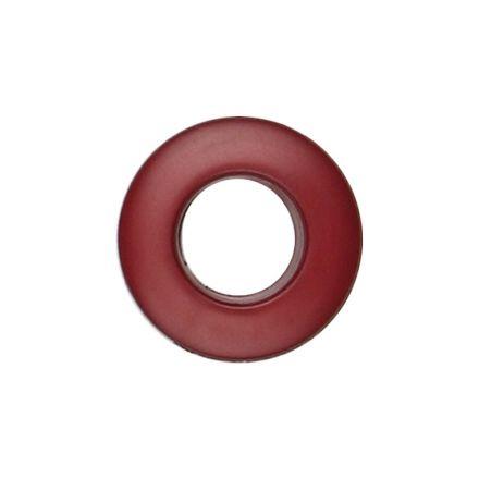 Oeillet à clipper polyester Bordeaux 25 mm