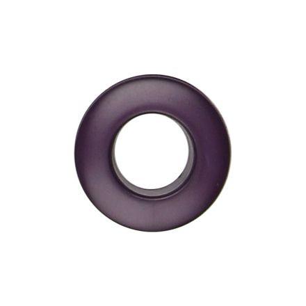Oeillet à clipper polyester Violet 25 mm