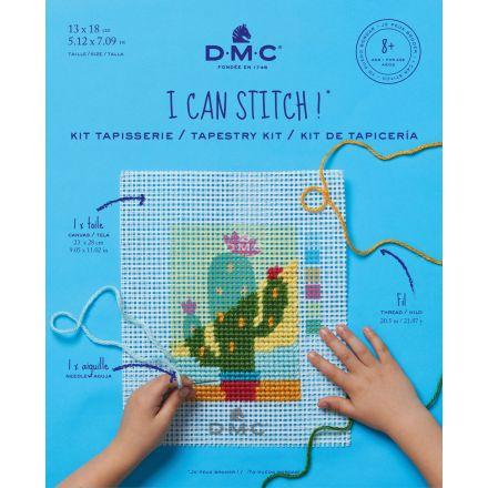 Kit Tapisserie DMC - Cactus 13x18 cm