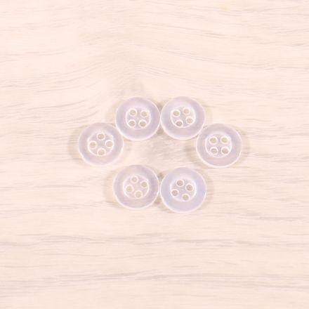 Boutons Craftine Box Rentrée 2021 - 4 trous 12 mm - Sachet de 6 boutons