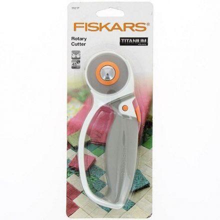 Cutter rotatif Fiskars diamètre 45 mm