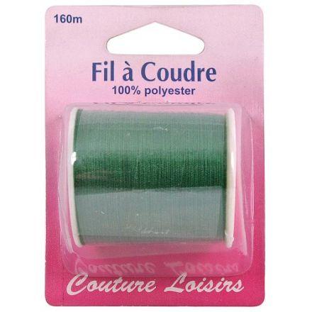 Bobine de fil Couture Loisirs Vert - 160 m
