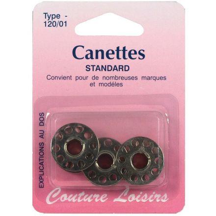 Canettes universelles métal 15k x3
