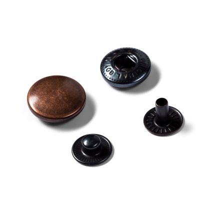 Recharge pour boutons pression anorak 15mm Prym Cuivre antique